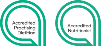 Accredited Practising Dietitian & Accredited Nutritionist Logo